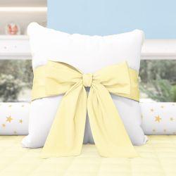 Almofada Laço Amarelo 38cm