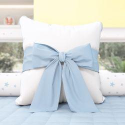 Almofada Laço Azul 38cm