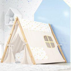 Cabana Quarto de Bebê Estrelinhas Amarelo