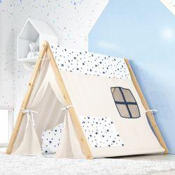 Cabana Quarto de Bebê Estrelinhas Azul Marinho