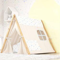 Cabana Quarto de Bebê Estrelinhas Azul