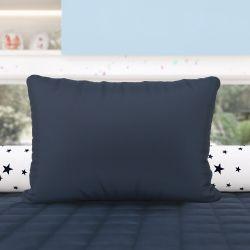 Almofada Retangular Azul Marinho