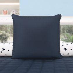 Almofada Quadrada Azul Marinho 38cm
