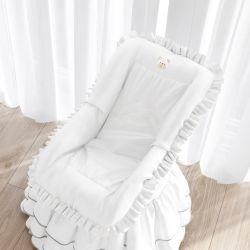Capa de Bebê Conforto Branco Clássico