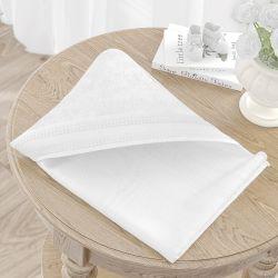 Toalha com Capuz Branco Clássico