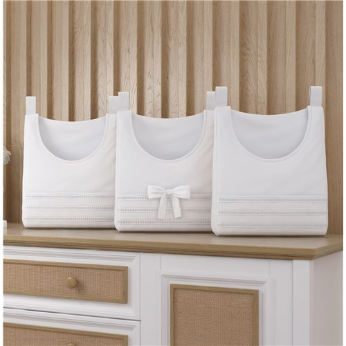 Porta Fraldas Varão Branco Clássico