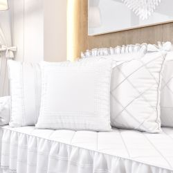 Almofadas Branco Clássico