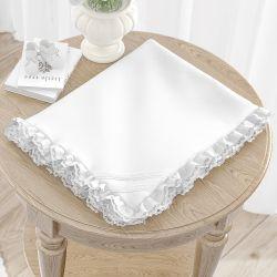 Cobertor Soft Branco Clássico