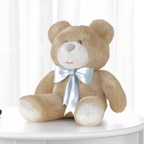 Urso Laço Azul 46cm