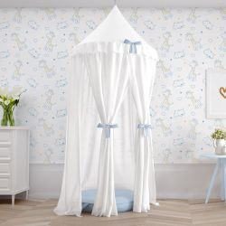 Tenda Dossel Girafinha Clássica Azul