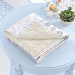 Cobertor Patchwork Azul