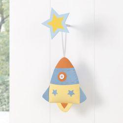 Lembrancinha Maternidade Mon Petit Foguete Azul