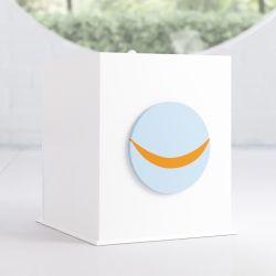 Lixeira Patchwork Azul