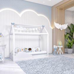 Quarto de Bebê Montessoriano Patchwork Azul