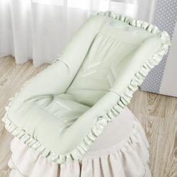 Capa de Bebê Conforto Amiguinhos Verde