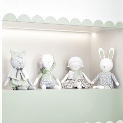 Bonecos de Pano Mimo Amiguinhos Verde