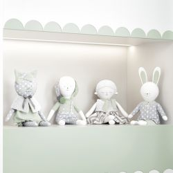 Bonecos de Pano Amiguinhos Verde