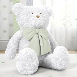 Urso Gigante com Laço Verde 1m