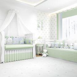 Quarto de Bebê Amiguinhos Verde