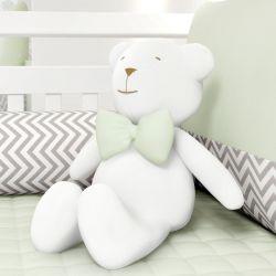 Urso com Gravata Verde 42cm