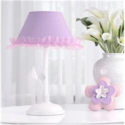 Abajur Floral Monet Lilás