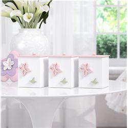 Jogo de Potes Floral Monet