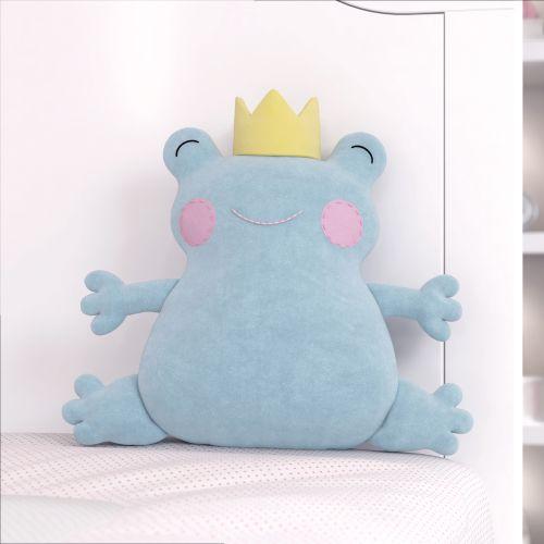 Príncipe Sapo Azul 28cm