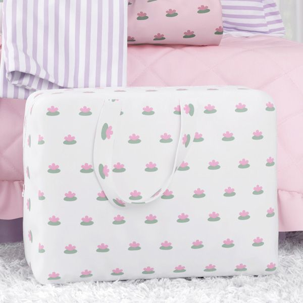 c0ca710a45 Bolsa de Tecido Infantil Floral Monet
