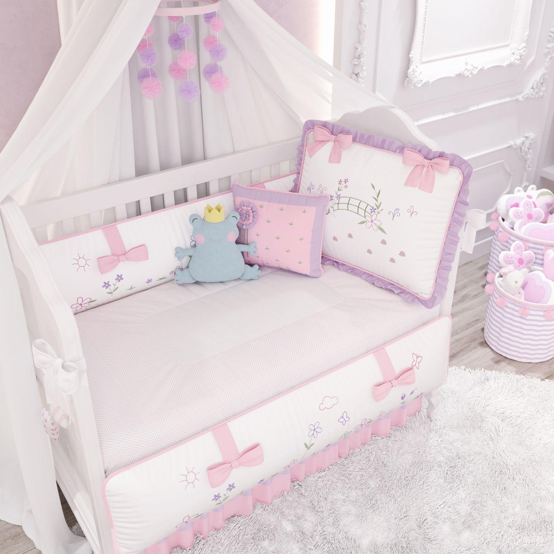 eb3d6b4769 Quarto de Bebê Floral Monet 19 Peças