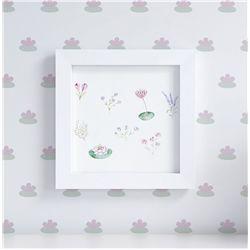 Quadro Floral Monet 20cm