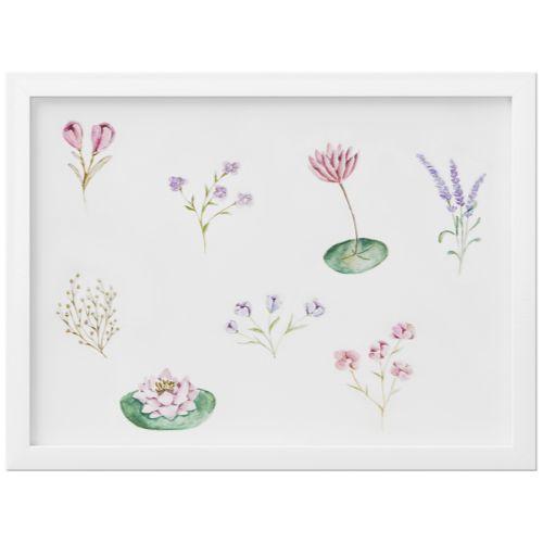 Quadro Floral Monet 35cm