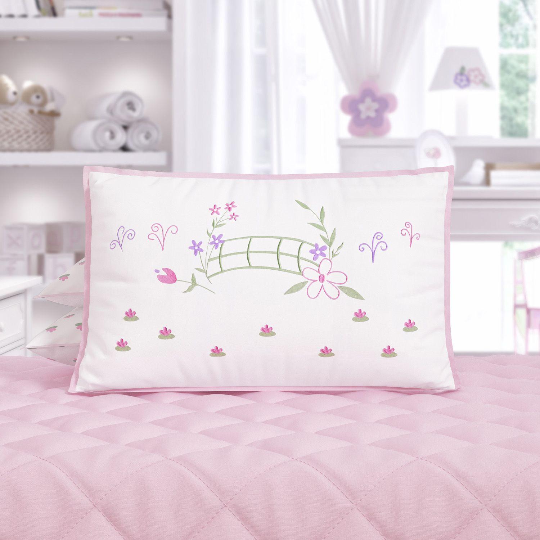 2b7a76130b Mini Cabeceira Bordada Infantil Floral Monet