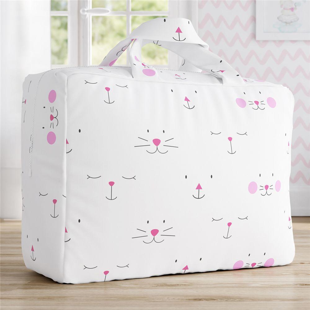 Bolsa Infantil Menina Branco/Rosa Amiguinhas Grão de Gente