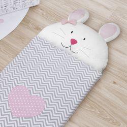 Saco de Dormir Infantil Amiguinha Coelhinha 1,40m