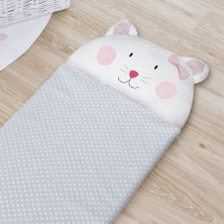 Saco de Dormir Infantil Amiguinha Gatinha 1,40m