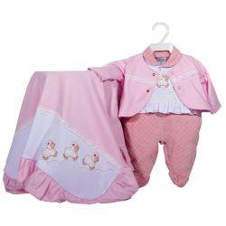 Saída Maternidade Plush Ovelhinha