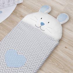 Saco de Dormir Infantil Amiguinho Coelhinho 1,40m