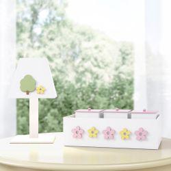 Kit Acessórios Floral Moderna