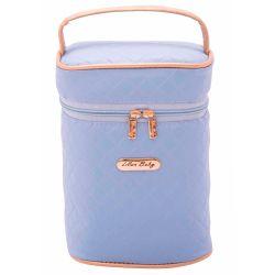 Porta Mamadeira Maternidade Nice Azul