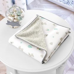 Cobertor Raposinha Cinza