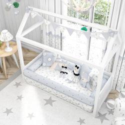 Quarto de Bebê Montessoriano Raposinha Cinza