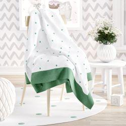 Manta Tricot Amiguinhos Verde 1,20m