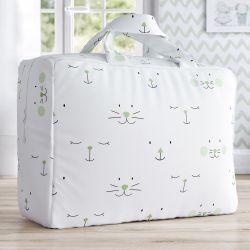 Bolsa de Tecido Infantil Amiguinhos Verde 60cm