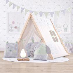 Cabana Quarto Infantil Amiguinhos Verde