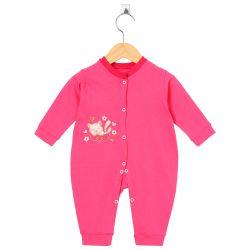Macacão Longo Gatinha Dorminhoca Pink