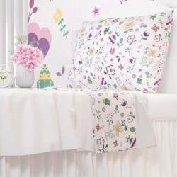 Edredom Infantil Floral Moderna