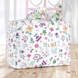 Bolsa de Tecido Infantil Floral Moderna 60cm