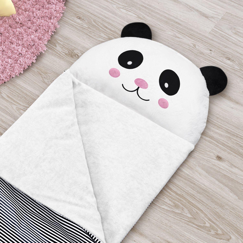 Saco De Dormir Infantil Urso Panda 1 40m Grao De Gente