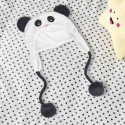 Touca de Bebê Urso Panda