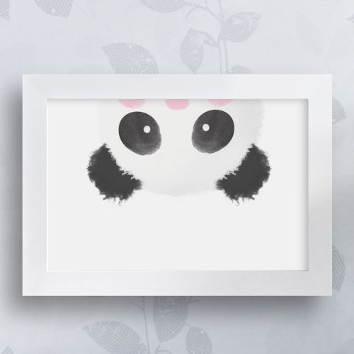Quadro Urso Panda 35cm